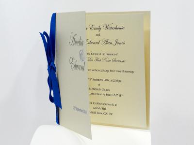 Classic Wedding Invites - Classic Bow