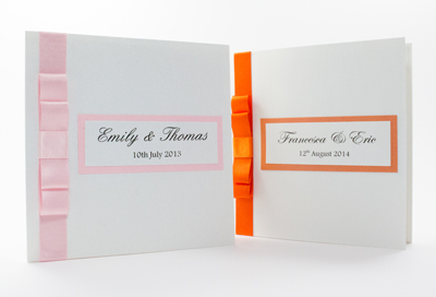 Wedding Invitation Sample of Beautiful Bow Collection