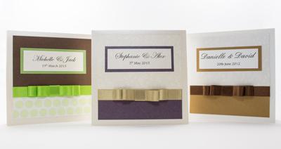 Wedding Invitation Sample of Serenity Collection