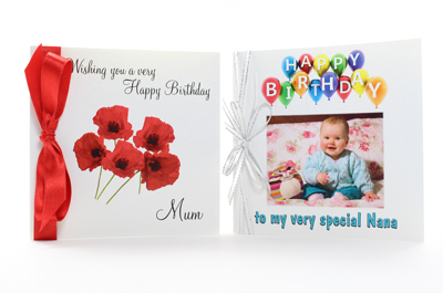 handmade and printed personalised birthday cards