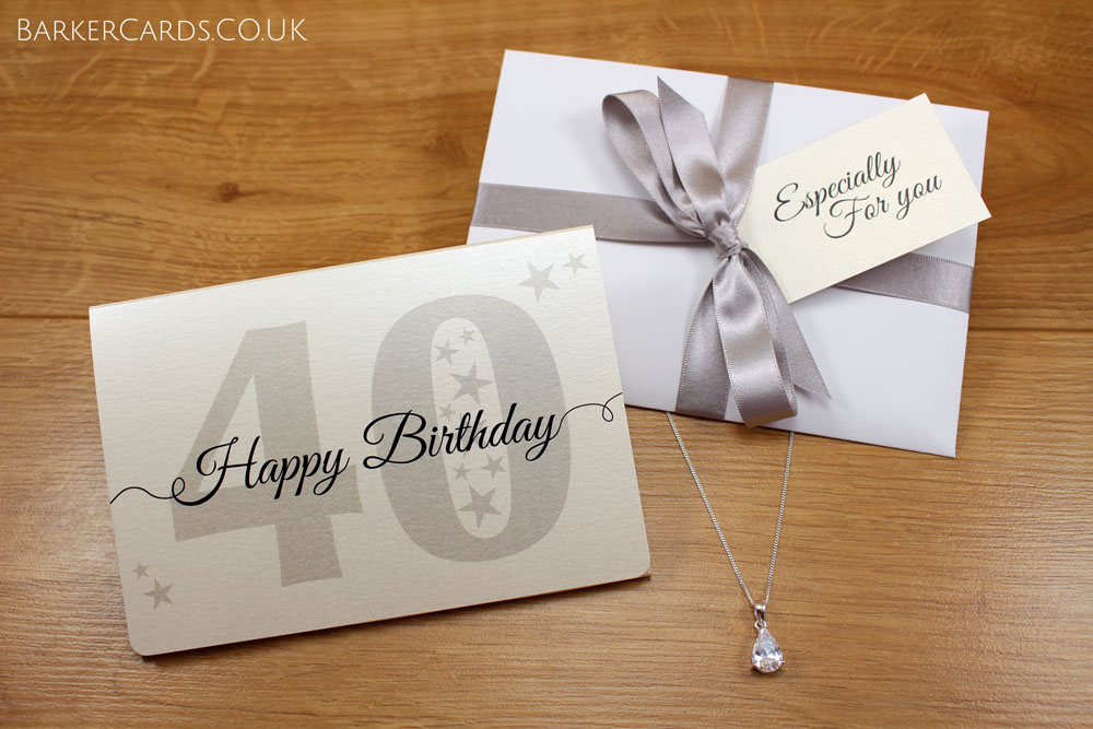 40th Birthday Gift for Her | 40th Birthday Gifts for Women | 40th Birthday Necklace