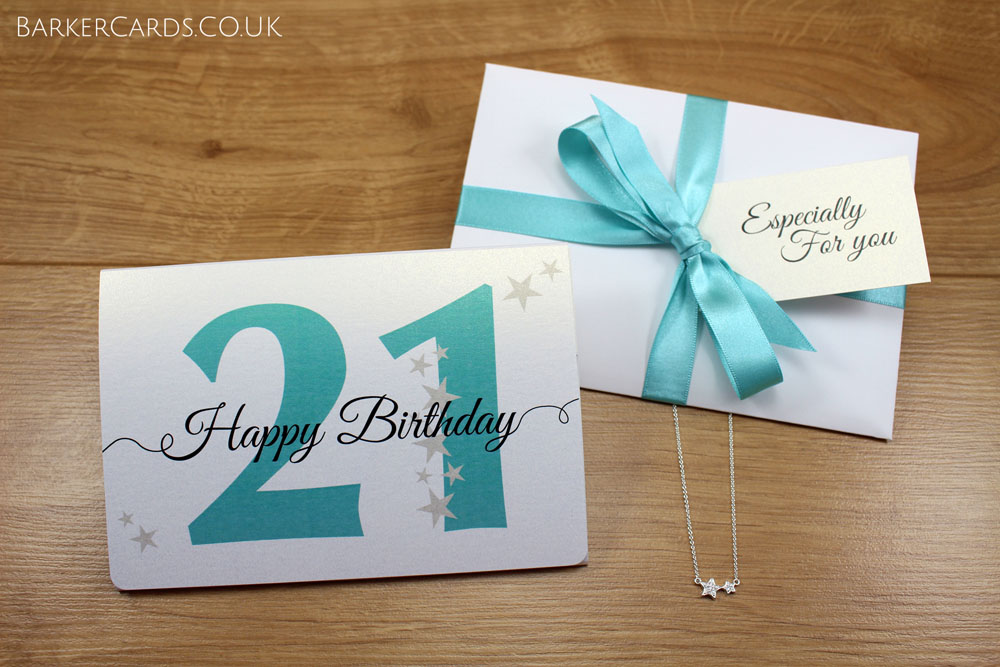 21st Birthday Gift for Her | 21st Birthday Gifts for Women | 21st Birthday Necklace