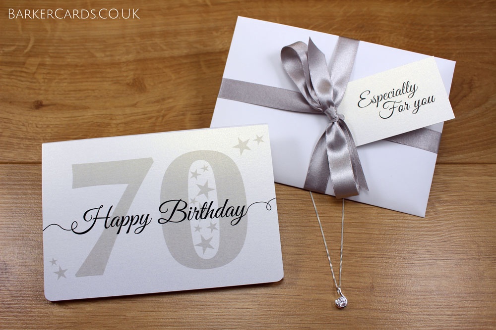 70th Birthday | Gift for Her | 70th Birthday Gifts for Women | 70th Birthday Necklace