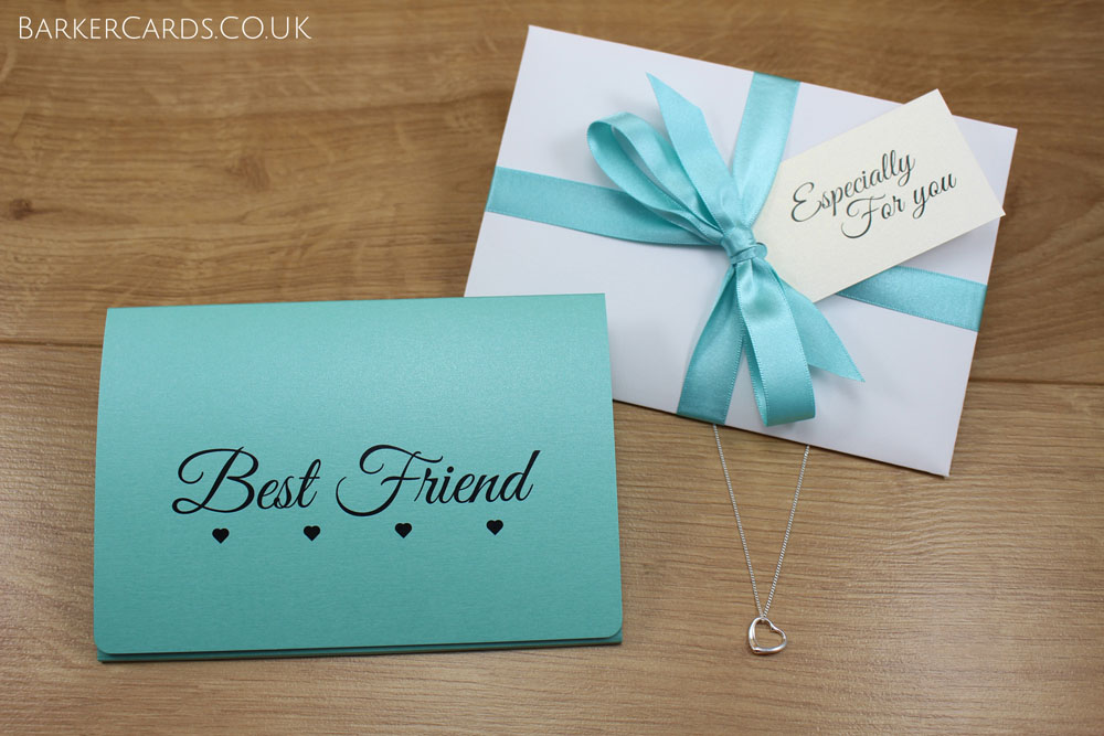 Best Friend Gift | Best Friend Necklace | Special Friend Gift | BFF Heart Necklace | Besties Gift