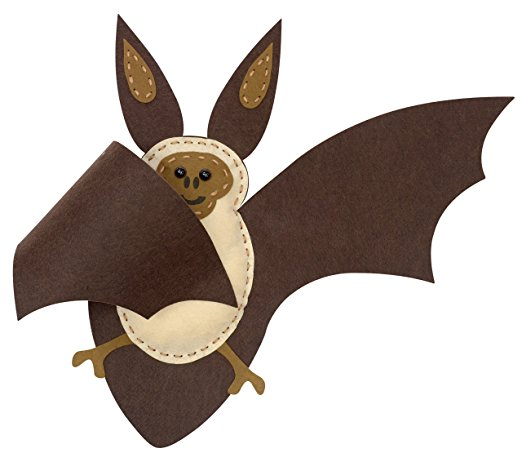 Natural History Museum - Sew you own brown long-eared bat kit - Contents