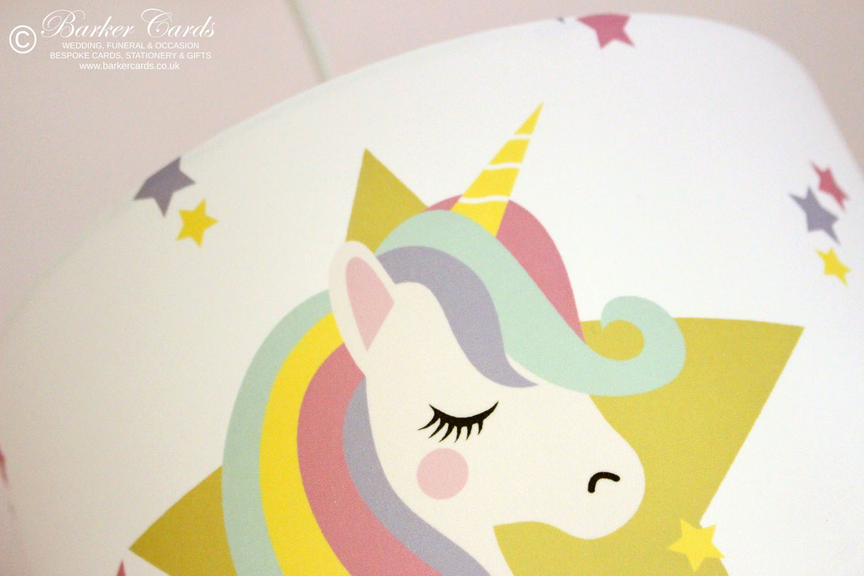 Unicorn Kids Bedroom Lampshade