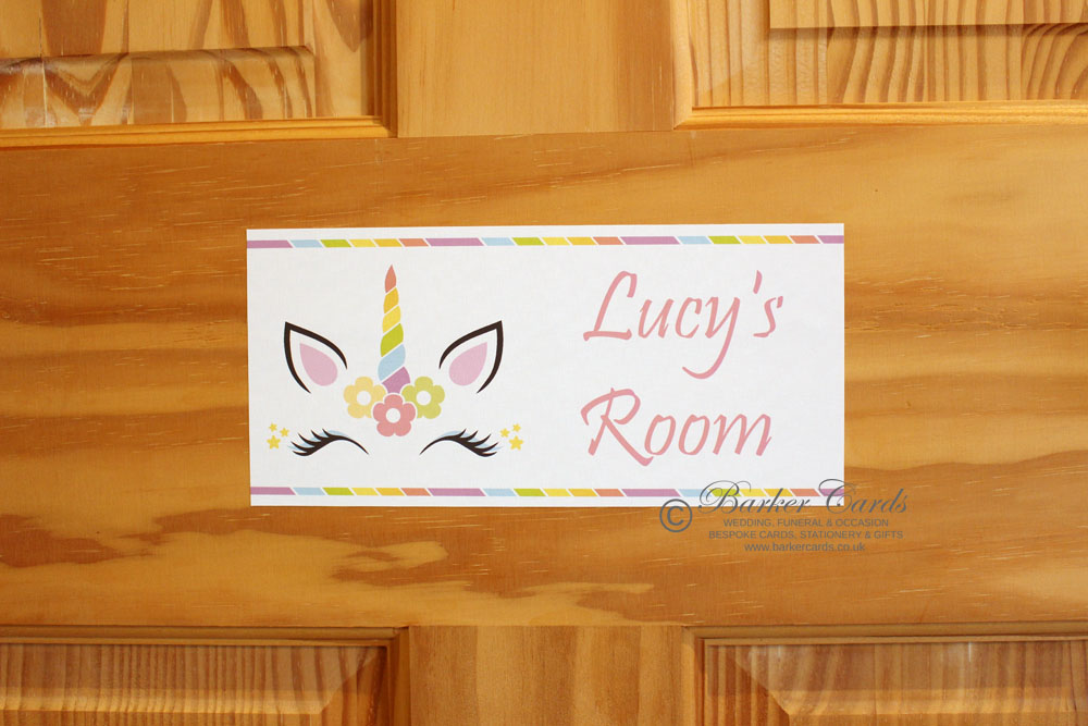 Personalised Kids Bedroom Door Signs Handmade To Order
