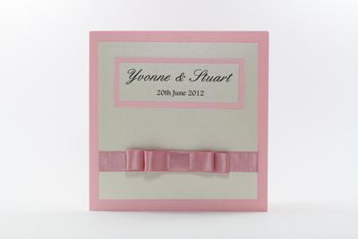 Traditional Blush Pink Wedding Invites