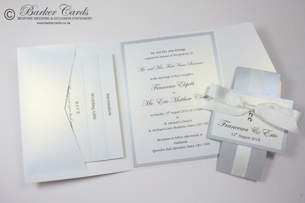 Simple Pocketfold Invitations