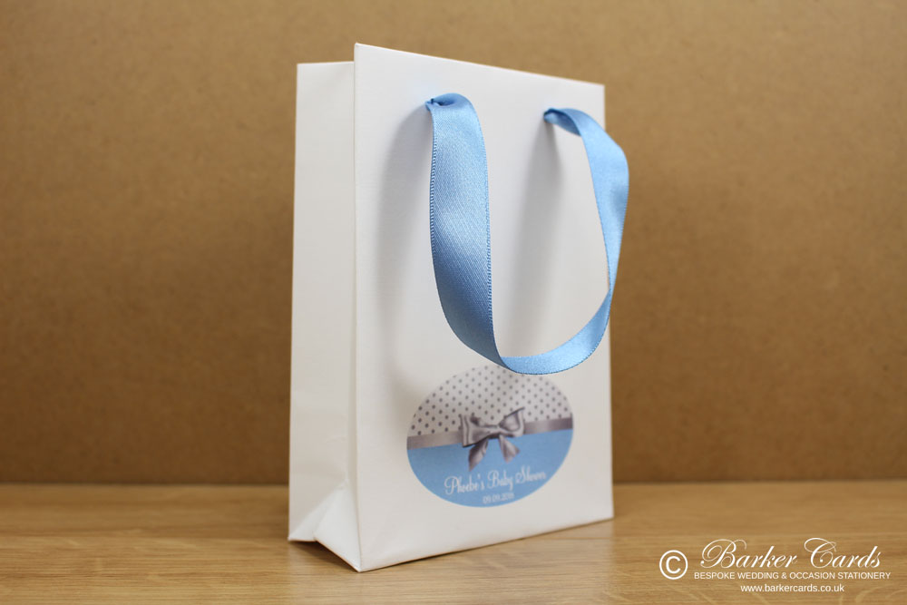 Luxury Personalised Baby Shower Gift Bags