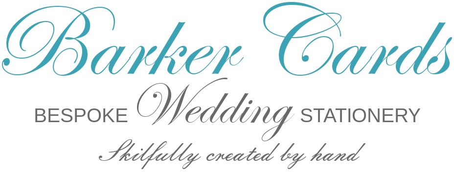 Barker Cards Wedding Stationery Logo