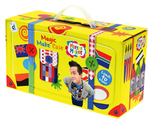 Mister Maker Magic Make Case - Craft Kit Case with Carry Handle
