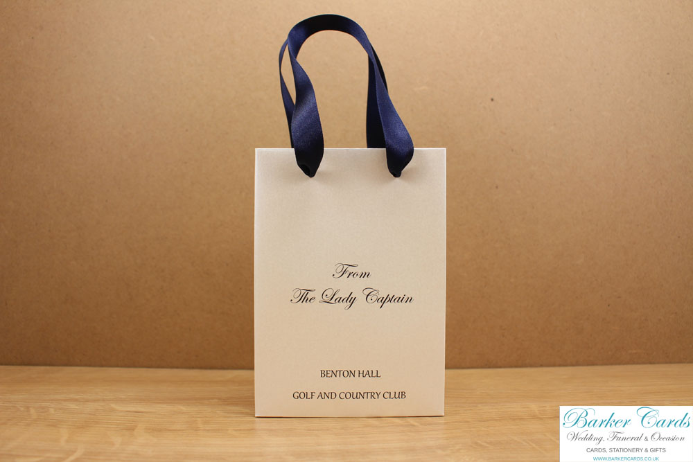 Luxury Personalised Bridesmaid Mother Of The Bride Birthday Gift Bags For Weddings