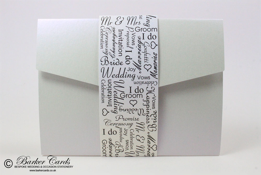 Pocketfold Wedding Invites