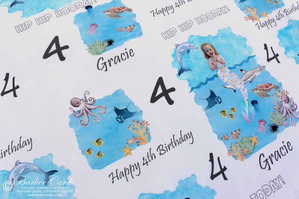 Personalised Printed Table Cloths / Table Runners ideal for weddings, baby showers, birthday parties and small businesses attending trade shows and craft fairs.