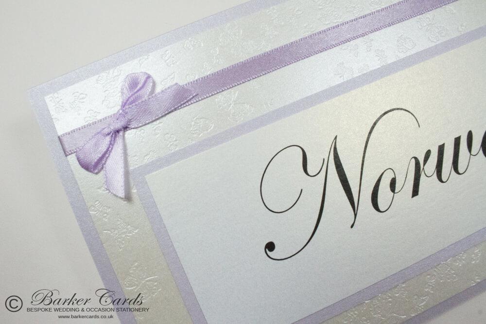 Wedding Table Names