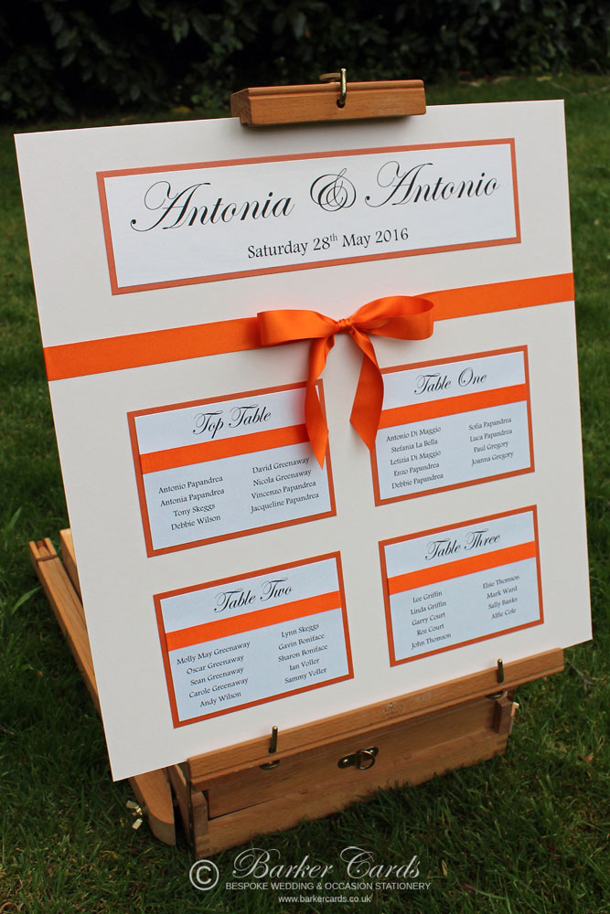 Elegant Wedding Table Plan Ideas