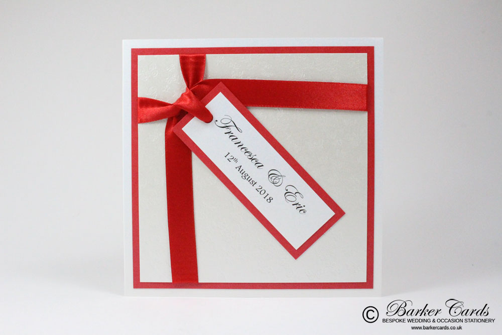 Free Wedding Invitation Samples made to suit your wedding colours