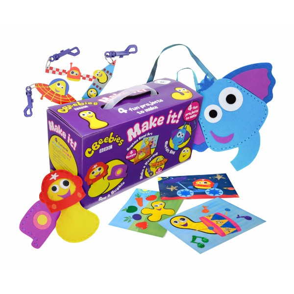 Cbeebies Make It! Craft Kits - Multipack with Carry Case