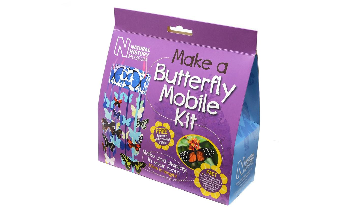Natural History Museum - Make a Butterfly Mobile Kit