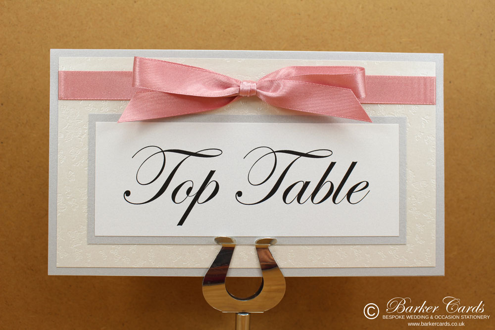 Wedding Table Name Signs Ideas
