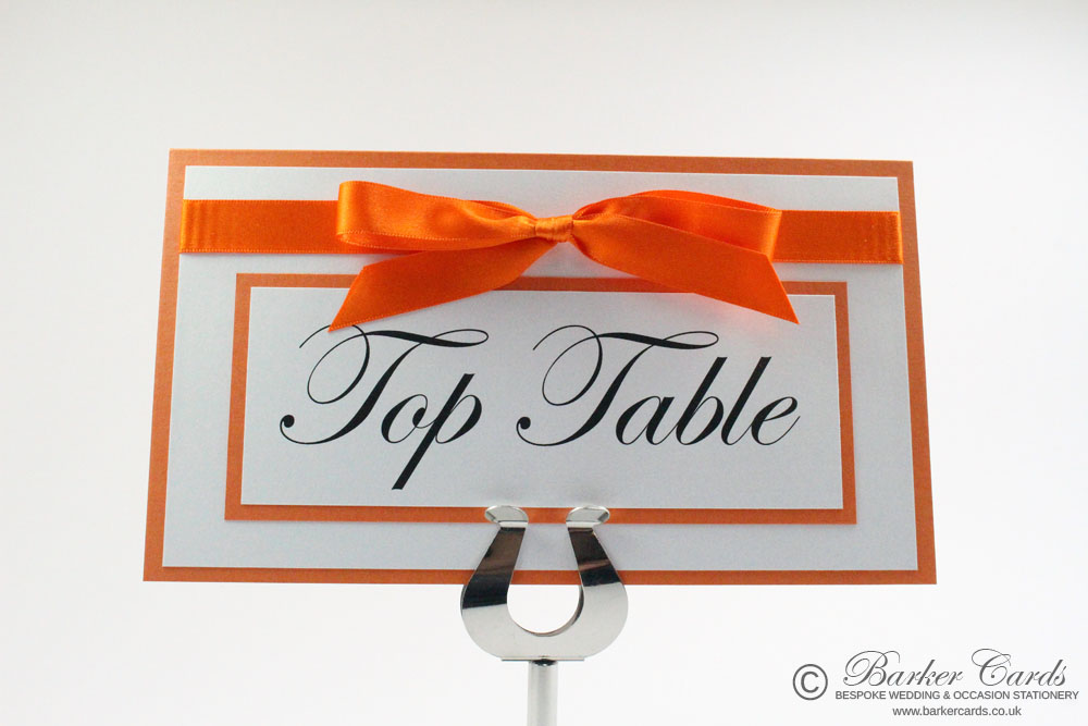 Wedding Table Name Cards Ideas