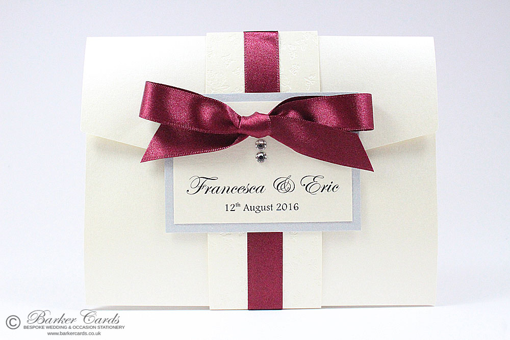 Buy Wedding Invitations Online Uk: Pocketfold Wedding Invitations